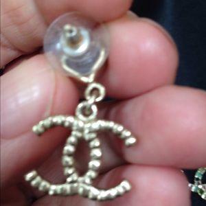 CHANEL Jewelry - Chanel CC earrings